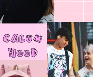 Collage, pink, and punk image
