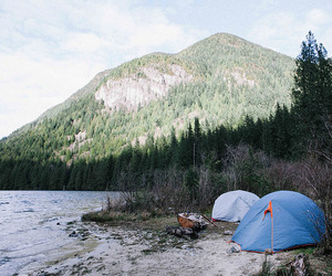 adventure, vancouver, and camping image