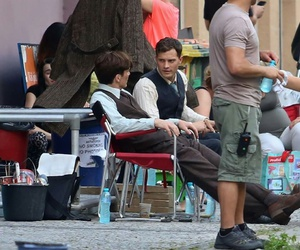 cillian murphy, Jamie Dornan, and bts image
