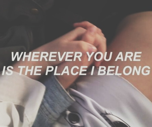 quotes, grunge, and couple image