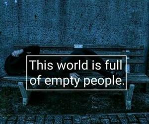 sad, quotes, and empty image