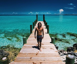 beach, Hot, and jay alvarrez image