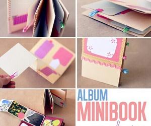 album, diy, and book image
