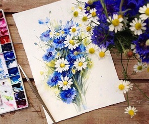 art, artist, and illustration image
