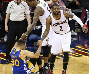 cavaliers, stephen curry, and golden state image