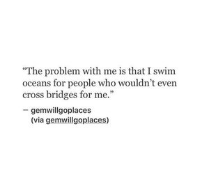 quote, ocean, and problem image