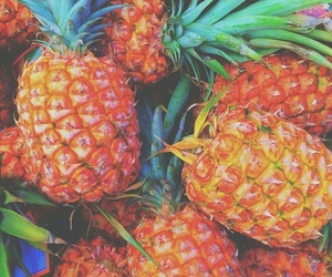 fruit, neon, and pastel image