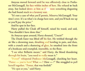 deathly hallows, harry potter, and minerva mcgonagall image