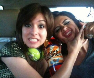 selena gomez, christina grimmie, and friends image