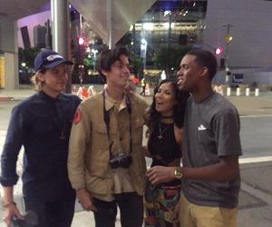 dylan sprouse, cole sprouse, and jhene+aiko+ image