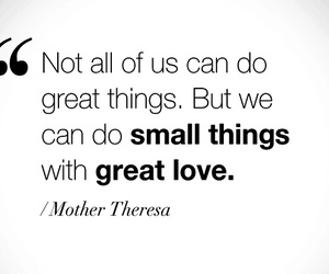 mother theresa and love image