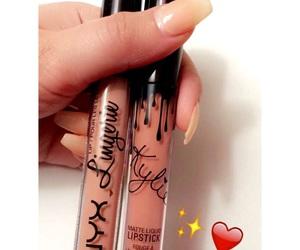 Lipsticks, makeup, and nails image