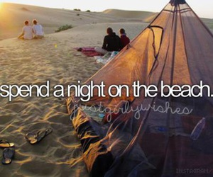 beach and bucket list image