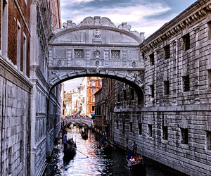 attraction, bridge of sighs, and italy image