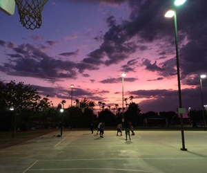 Basketball, sky, and grunge image