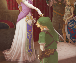 Legend of Zelda, link, and nintendo image