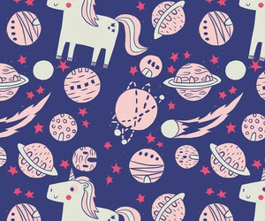 pattern, wallpaper, and planets image