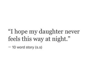 sad, daughter, and quotes image