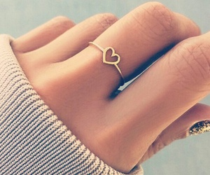 ring and heart image