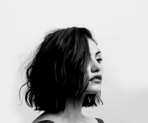phoebe tonkin, black and white, and hair image