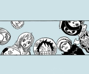 one piece, nami, and franky image