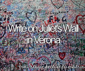 italy, juliet, and verona image