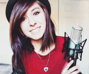 christina, grimmie, and in image