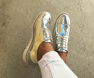 silver, Zara, and shous image