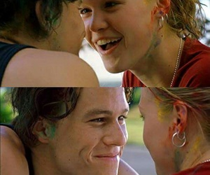 10 things i hate about you, heath ledger, and movie image