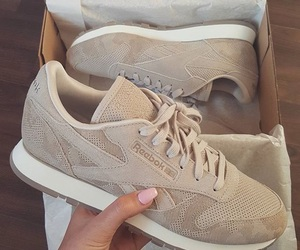 shoes, beige, and adidas image