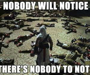 assassin's creed, funny, and game image