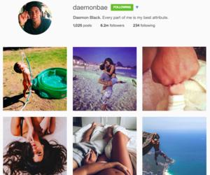 instagram, daemon black, and lux series image