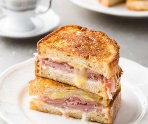 breakfast, coffee, and sandwich image