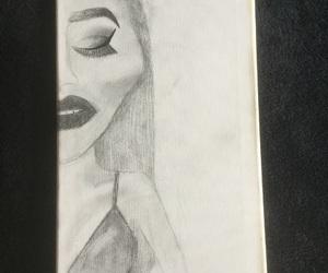 bikini, drawing, and wethair image