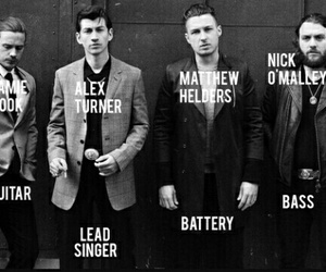arctic monkeys and band image