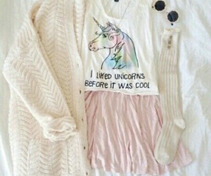 outfit and unicorn image