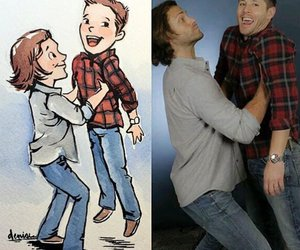 dean winchester and sam winchester image