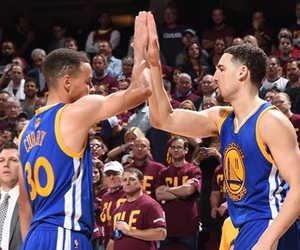 curry, team, and thompson image