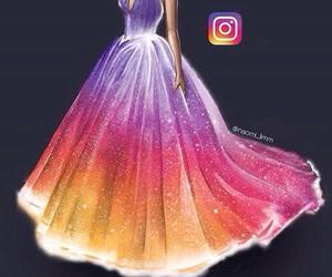 dress, instagram, and art image