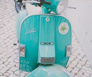 vintage, blue, and turquoise image