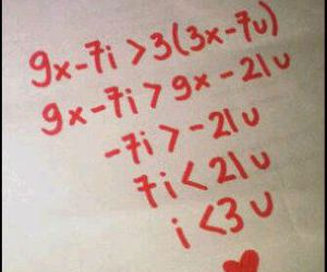 love and math image