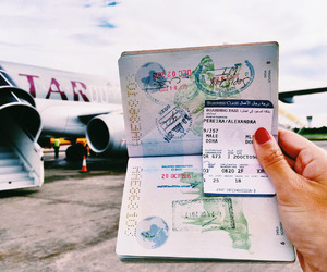 travel and passport image