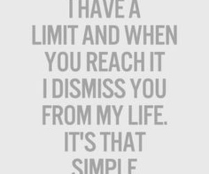 quotes, life, and limit image