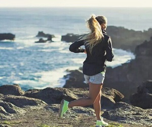 fitness, sport, and run image