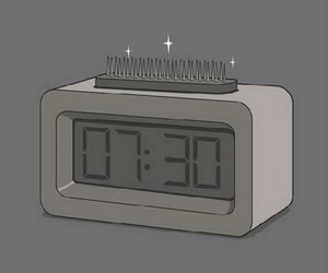 clock and funny image
