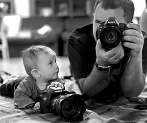 baby, camera, and photography image