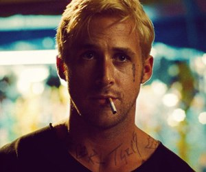 ryan gosling, cigarette, and ryan image