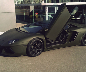 car, black, and Lamborghini image