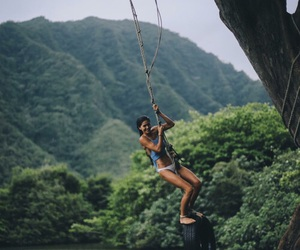 girl, adventure, and nature image