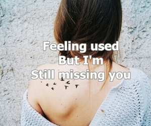 Lyrics, miss you, and quote image